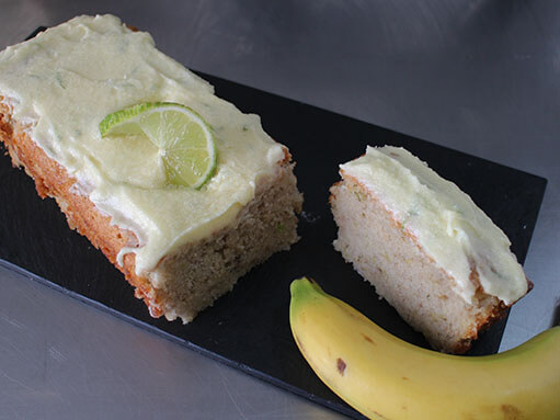 Vegan Banana and Lime Cake Recipe
