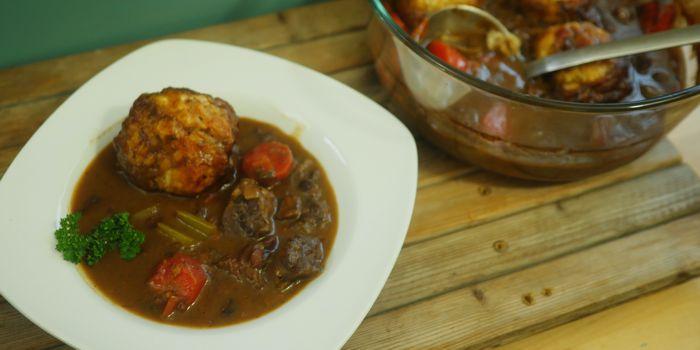 Beef Stew with Dumplings Recipe