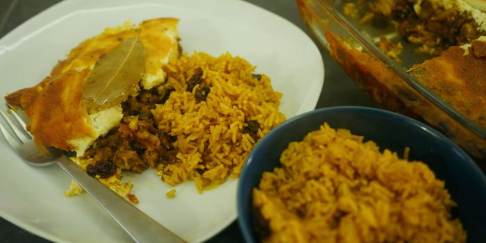 Bobotie with Yellow Rice Recipe