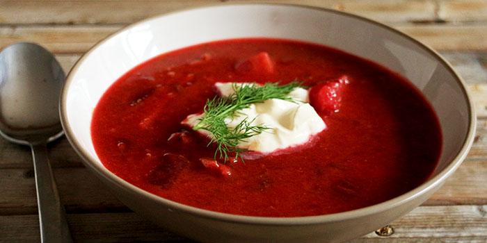 Borscht East European Beetroot Soup Recipe