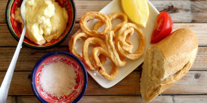 Calamari / Deep-fried Squid Rings Recipe
