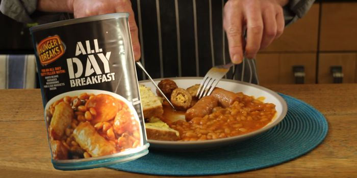 All-Day Breakfast in a Can - Taste Test and Review Recipe