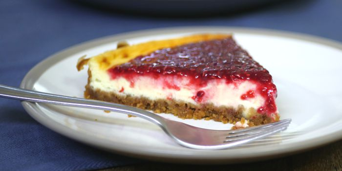 Baked Raspberry Cheesecake Recipe
