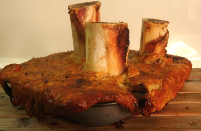 Beef, Mushroom and Marrowbone Pie Recipe