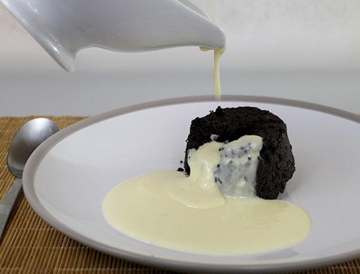 English Pouring Custard - Creme Anglaise Recipe