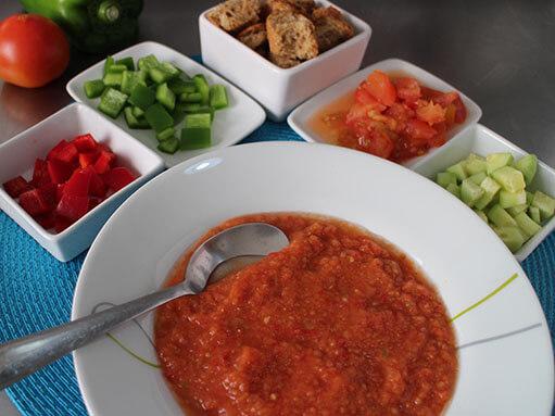 Gazpacho Chilled Tomato Soup Recipe