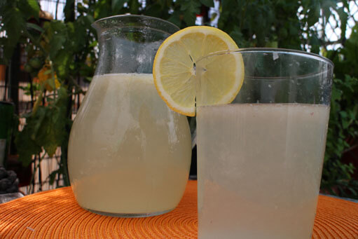 Home-made Lemonade Recipe
