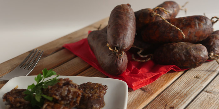 Morcilla de Burgos | Spanish Blood Pudding Recipe
