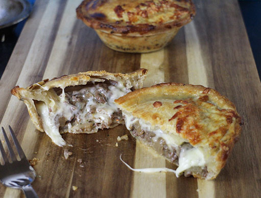 Minced Beef and Cheese Pie Recipe