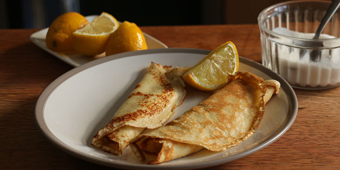 British Pancakes for Pancake Day Recipe