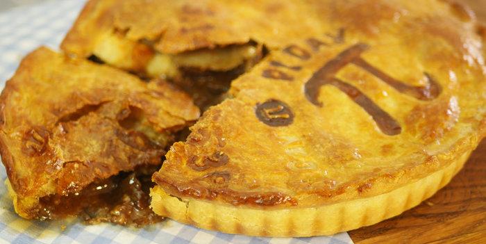 Beef, Mushroom and Stilton Pie Recipe