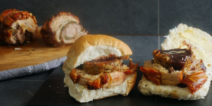 Porchetta / Hot Pork Roll Recipe