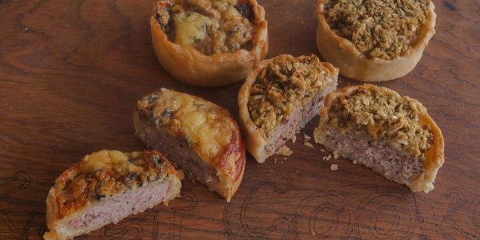 Pork & Stilton Pie  Recipe