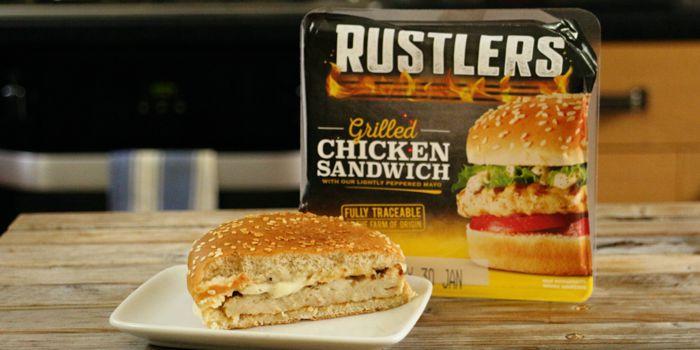 Rustler\'s Chicken Burger - Taste Test and Review Recipe