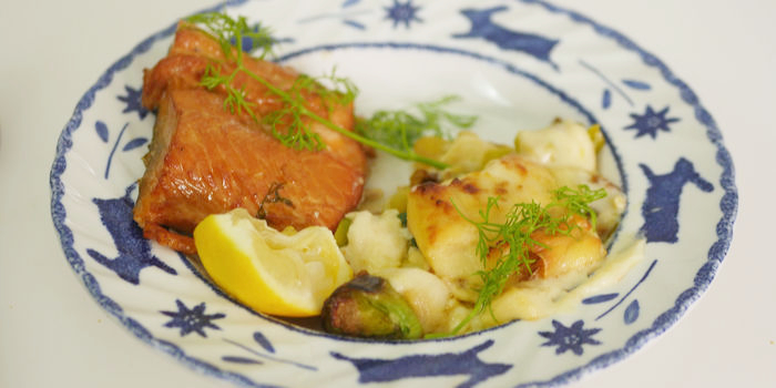 Hot-Smoked Salmon Recipe