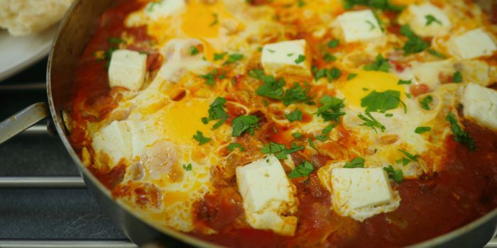 Shakshuka - Tomato and Egg Breakfast Recipe