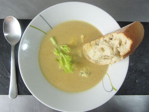 Celery and Stilton Soup Recipe
