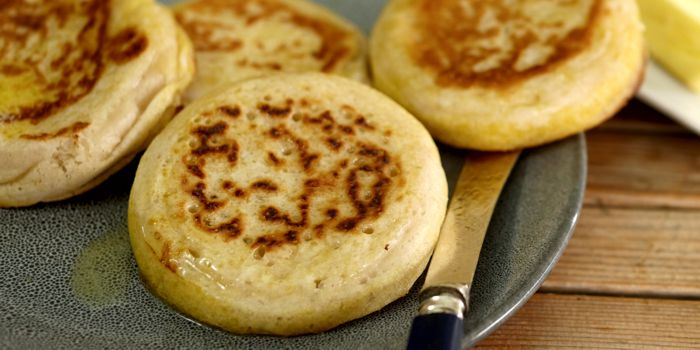 Sourdough Crumpets Recipe