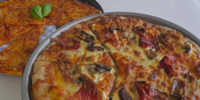 Sourdough Pizzas | Pepperoni Pizza | Ham Mushroom and Mascarpone Pizza Recipe