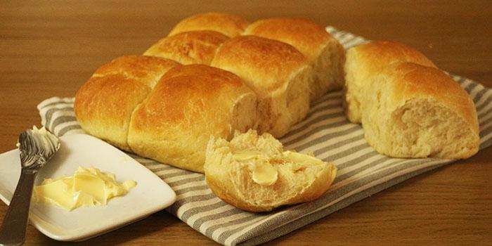 Soft White Bread Rolls Recipe