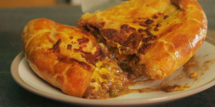 Stuffed Crust Minced Beef Pasty Recipe