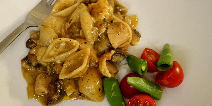 Tuna Pasta Bake with Mushrooms Recipe